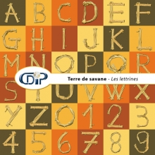 Kit « Terre de savane » - 07 - Les lettrines