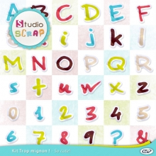 So cute kit letters