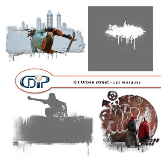 Kit « Urban street » - 08 - Les masques