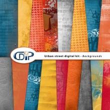 """Urban Street"" digital kit - 09 - Backgrounds"