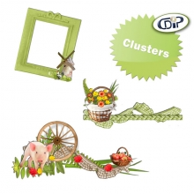 kit farmhouse fun cluster frames