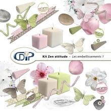 Kit « Zen attitude » - 02 - Les embellissements 1