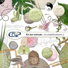 Kit « Zen attitude » - 03 - Les embellissements 2