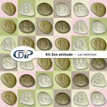 Kit « Zen attitude » - 07 - Les lettrines