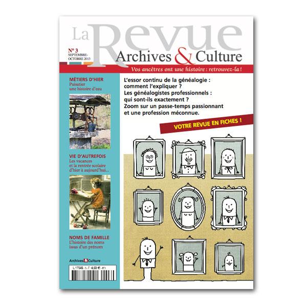nouveau numéro archives&culture