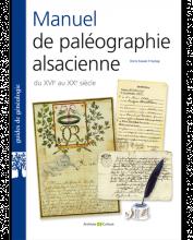 Livre - Manuel de paleographie alsacienne XVIe