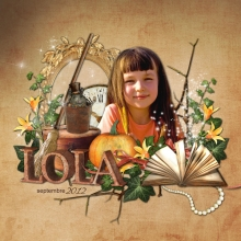 Kit « Grenier merveilleux » - 21 - Composition