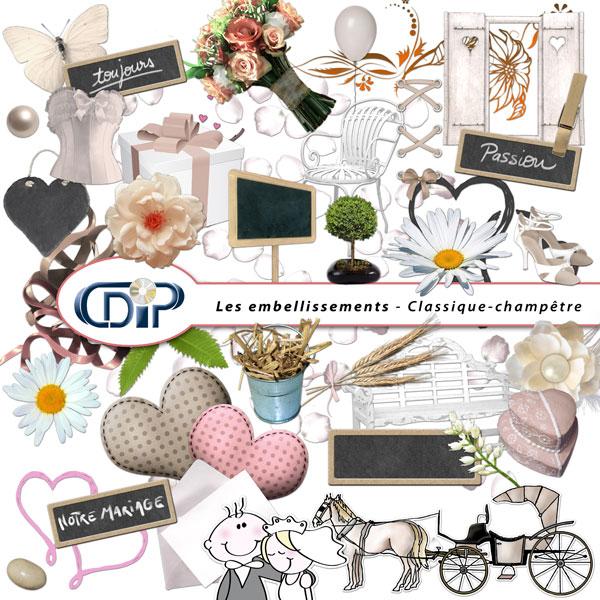 Complément « Mariage » - 07 - Les embellissements 2