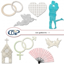 Complément « Mariage » - 12 - Les gabarits 1