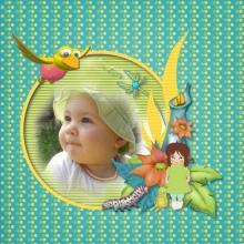 Kit « Les rêves de Prune au jardin magique » - 13 - Composition