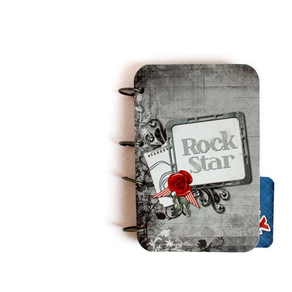 Mini-album « Rock star » - 01 - Les pages 1