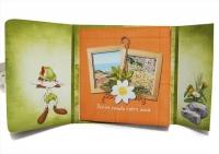 Mini-album « A la croisee des chemins » - 02 - Les pages 2