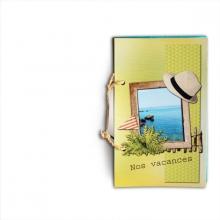 Mini-album « Vacances au bord de l eau » - 02 - Les pages 1