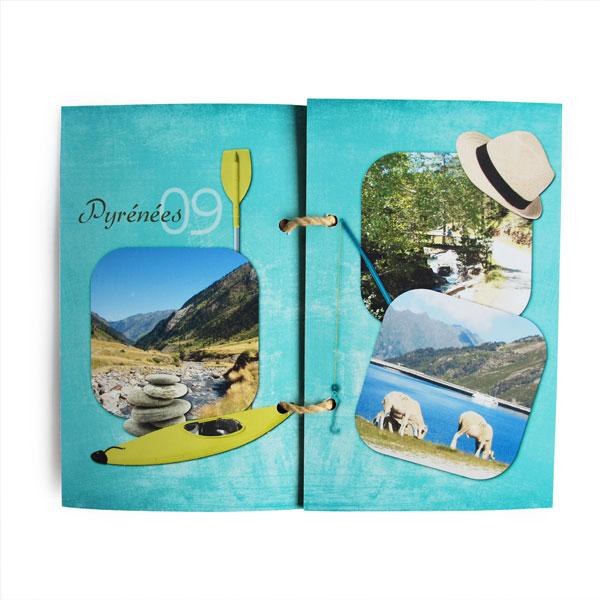 Mini-album « Vacances au bord de l eau » - 03 - Les pages 2