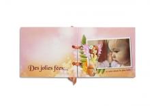 Mini-album « Mon jardin secret » - 01 - Les pages 1