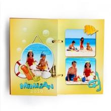 Mini-album « Vacances au bord de l eau » - 05 - Les pages 4