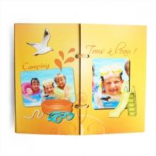 Mini-album « Vacances au bord de l eau » - 06 - Les pages 5