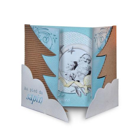 Mini-album « Au pied du sapin » - 00 - Présentation