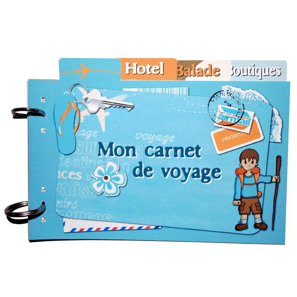 Mini-album « Carnet de voyage » - 00 - Présentation