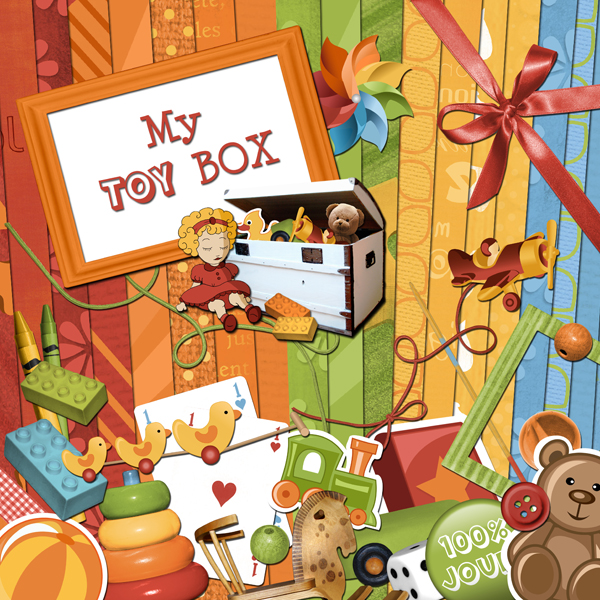 « My toy box » digital kit - 00 - Presentation