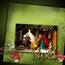 Kit « Joyeux noel » - 17 - Composition