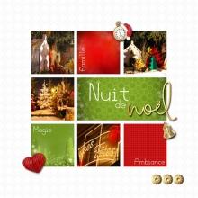 Kit « Joyeux noel » - 20 - Composition