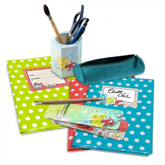 objet fournitures scolaires