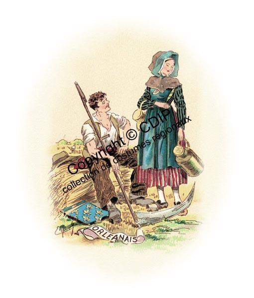 Collection de costumes régionaux - France et Belgique