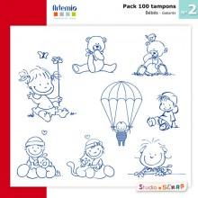 pack-100-tampons-artemio-2-presentation-gabarits-bebe