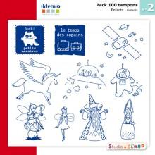 pack-100-tampons-artemio-2-presentation-gabarits-enfants
