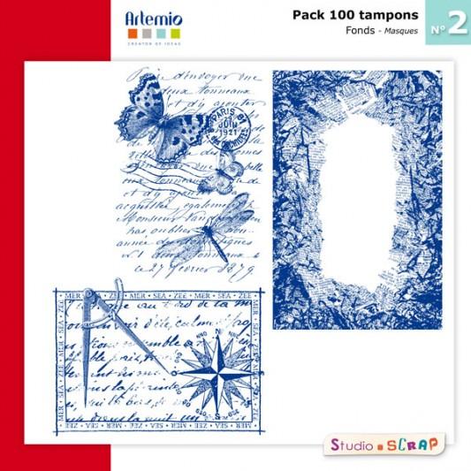 pack-100-tampons-artemio-2-presentation-masques-fond