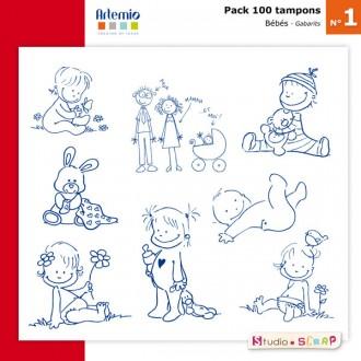 pack-100-tampons-presentation-gabarits-bebes