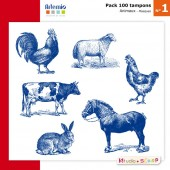 pack-100-tampons-presentation-masques-animaux