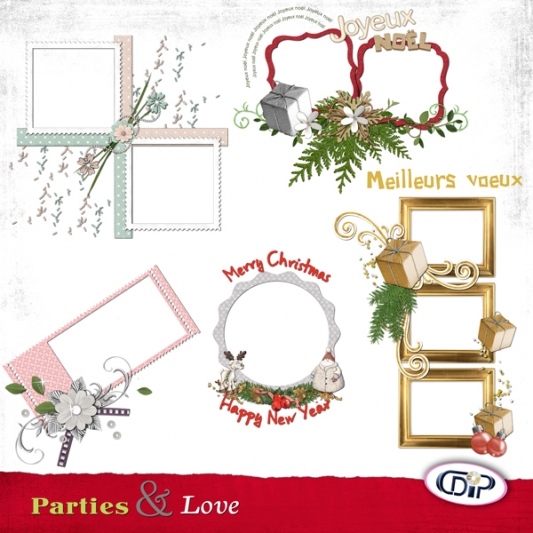 Cluster frames - 03 - Love & parties