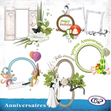 Pack Cluster - 05 - Anniversaire