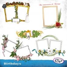 Cluster frames - 06 - Birthdays