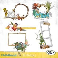 Cluster frames - 08 - Childhood and holidays