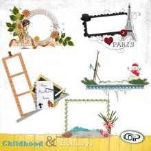 Cluster frames - 09 - Childhood and holidays