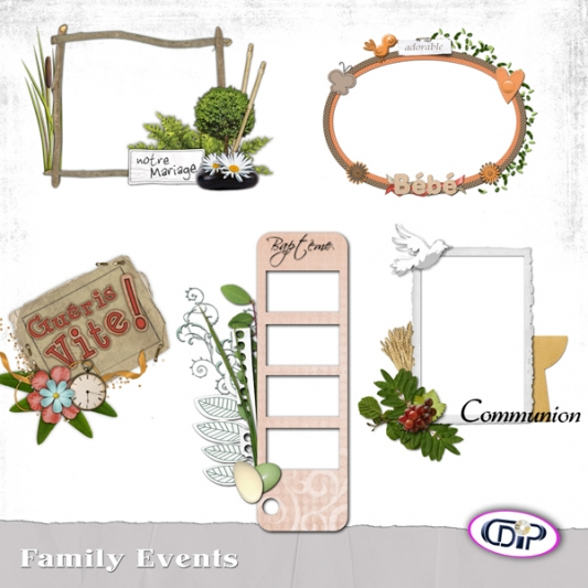 Cluster frames - 12 - Family events