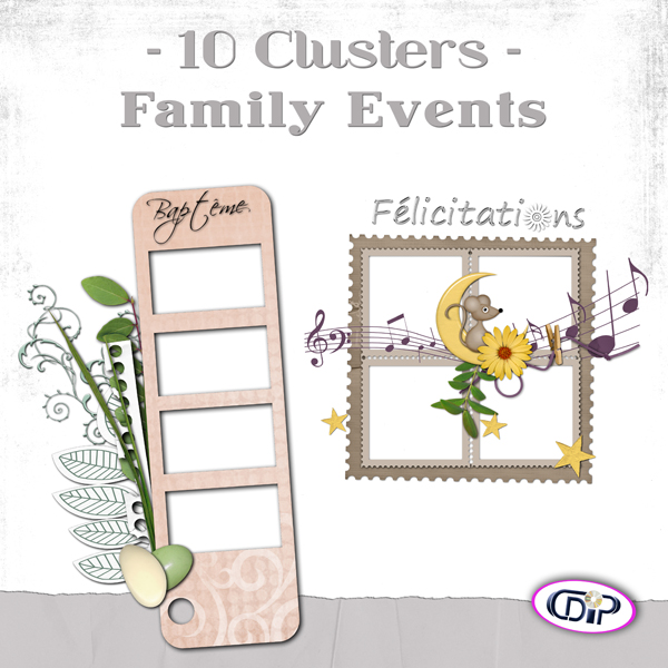 Cluster frames - 10 - Family events - presentation