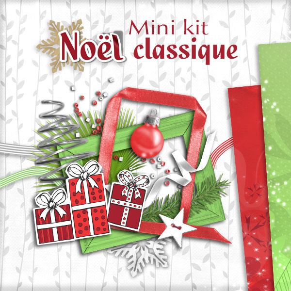 Mini-kit « Noel Classique » - 00 - Présentation