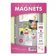 Packaging papier magnet