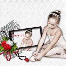 Kit « Rouge passion » - 25 - Composition