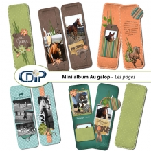 Mini-album « Au galop » - 01 - Les pages