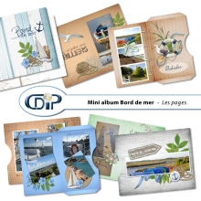 Mini-album « Bord de mer » - 03 - US - Presentation