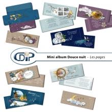 Mini-album « Douce nuit » - 01 - Les pages