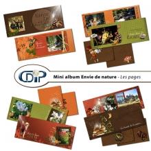 Mini-album « Envie de nature » - 01 - Les pages