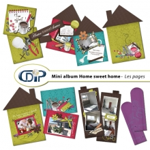 Mini-album « Home sweet home » - 01 - Les pages
