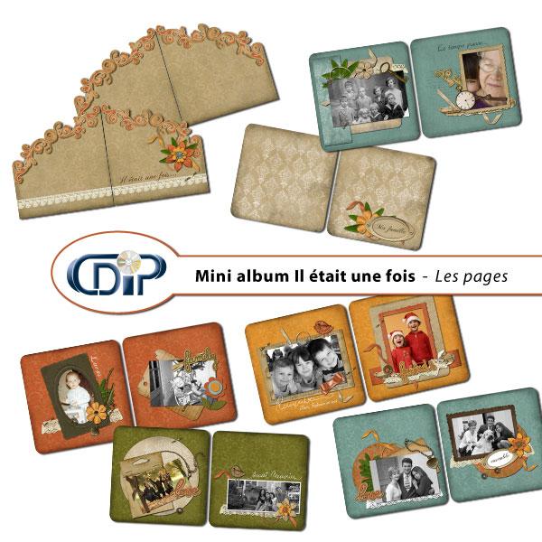 Mini-album « Il était une fois » - 01 - Les pages