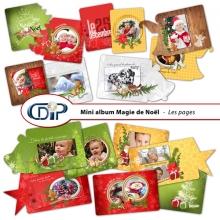 Mini-album « Magie de Noël » - 01 - Présentation